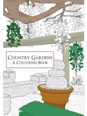 Country Gardens A Colouring Book