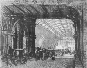 Railways - St Pancras Station