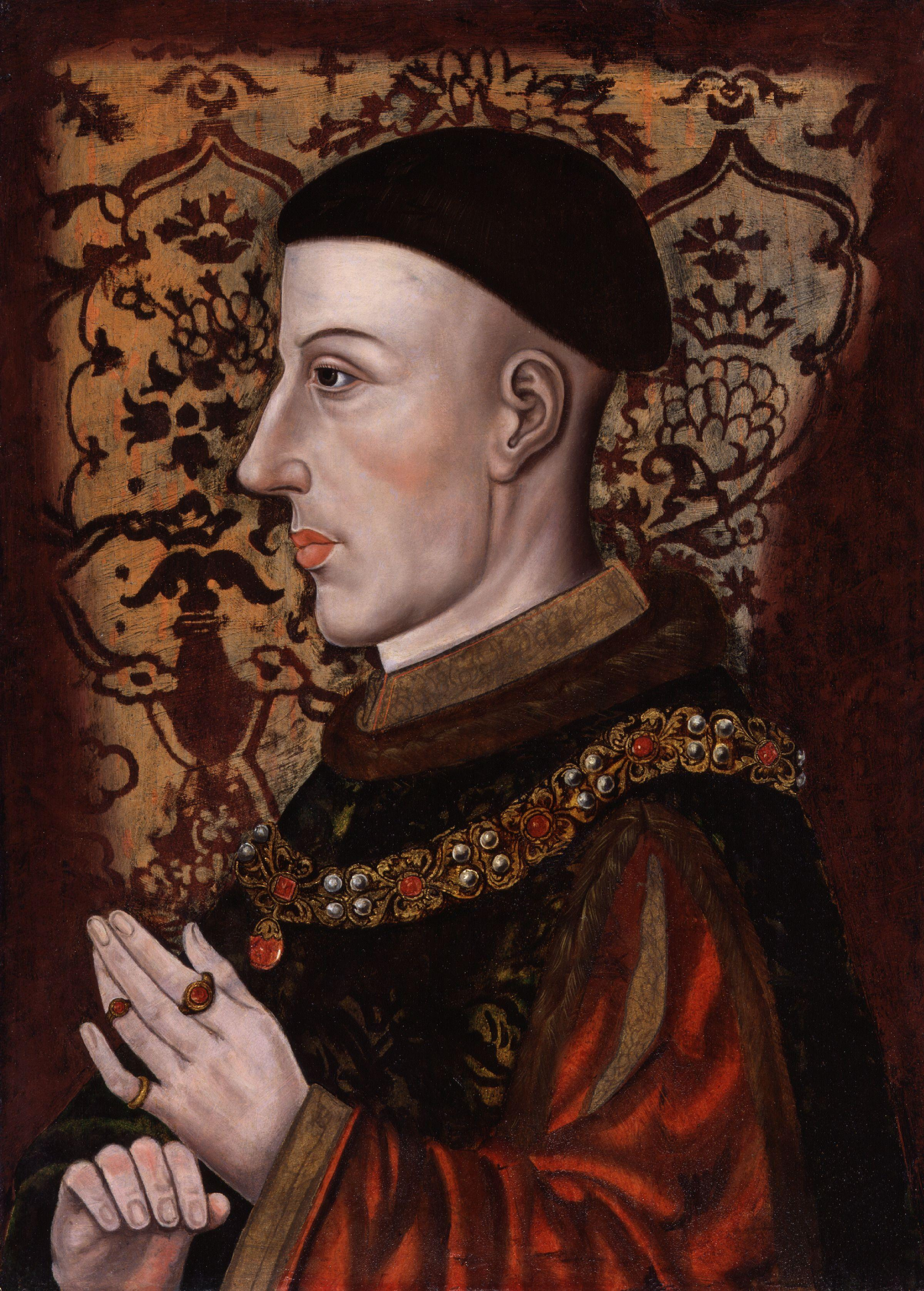 Agincourt - King_Henry_V_from_NPG