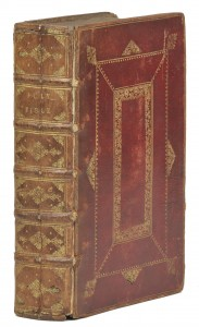 James Brindley's Bible - a gift from the Duke  Image  courtesy of Dominic Winter auctioneers