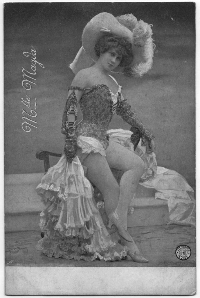 Erotic Postcards - Mademosielle Magva