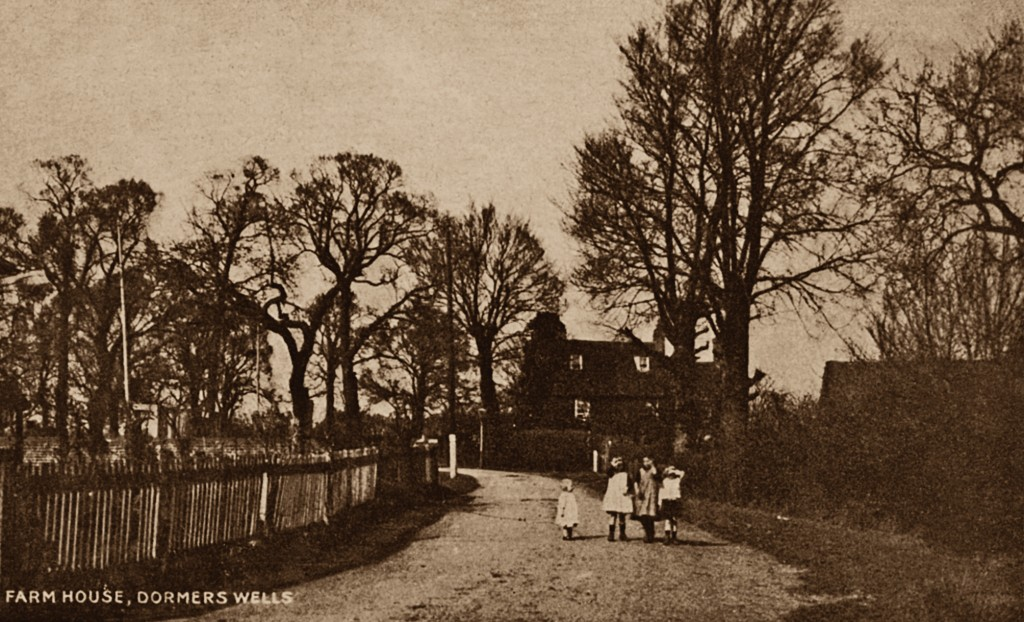 Hanwell & Southall Through Time Farm House, Dormers Wells