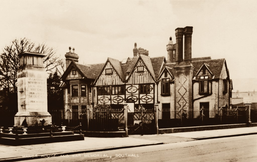 Hanwell & Southall Through Time Manor House, Southall