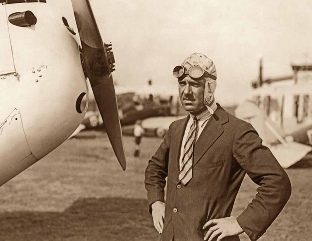 LE MAJOR DE HAVILLAND VERS 1925