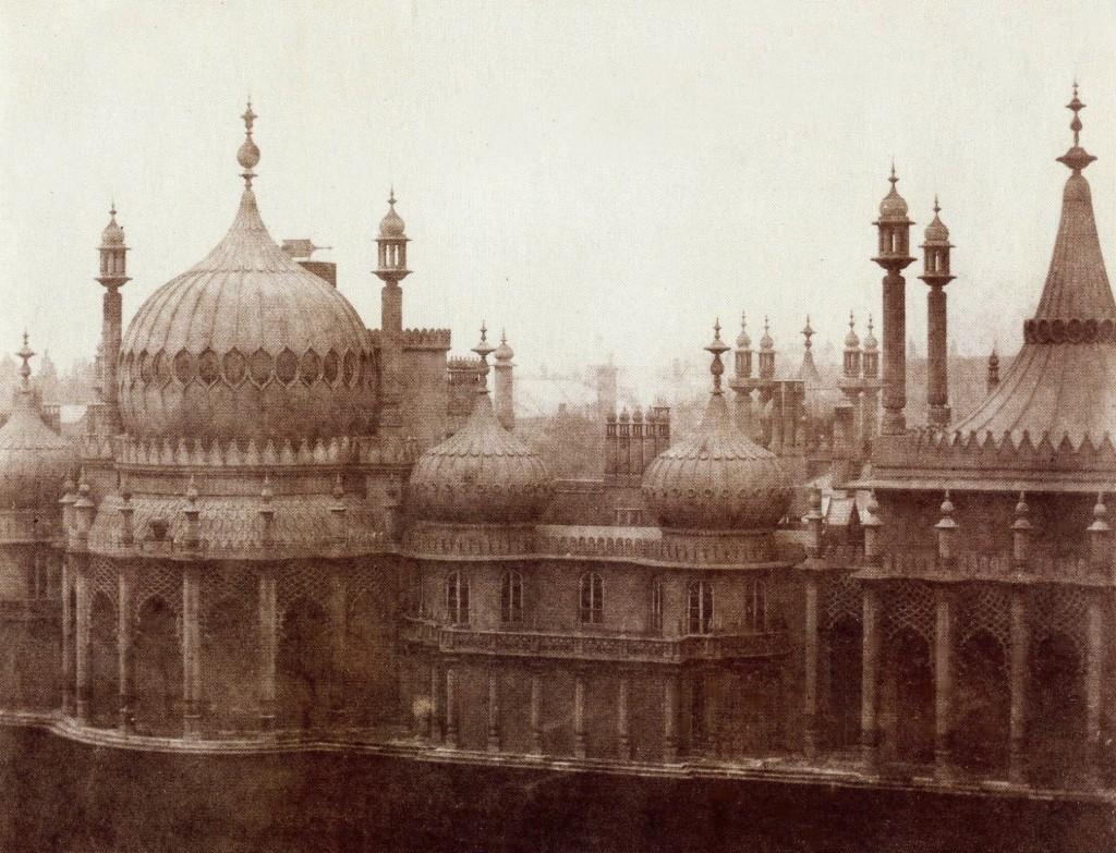 Brighton From Old Photographs The Royal Pavilion 1846 one of the earliest photographs taken in Brighton