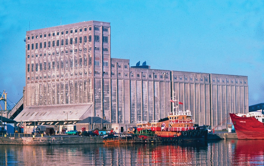 Edinburgh's Leith Docks 1970-80 Grain Warehouse