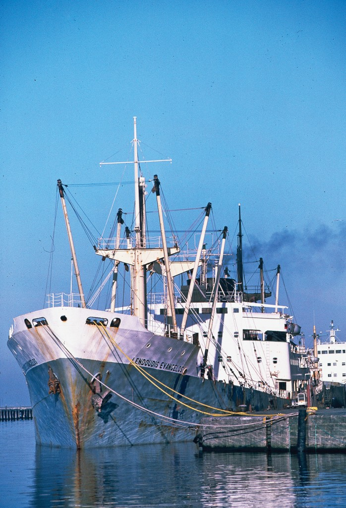 Edinburgh's Leith Docks 1970-80 Merchant Ship