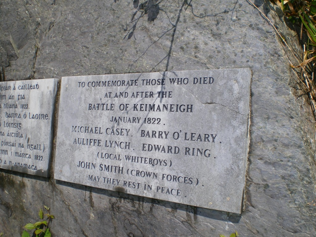 Ireland The struggle for Power 3 Whiteboy memorial co Cork