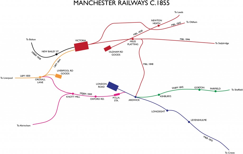 The Early Railways of Manchester 1