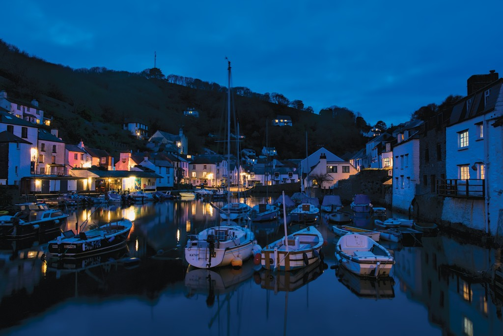 Cornwall in Photographs - Polperro