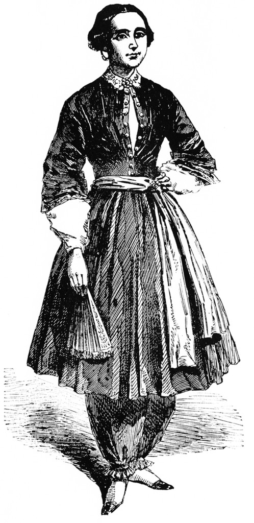 Mrs Amelia Bloomer
